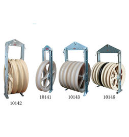 Cast Steel Sheave Rope Rope Pulley Block / Heavy Duty Pulley Block CE Phê duyệt